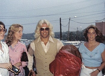 Ric Flair With Some Women