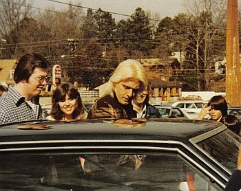 Ric Flair Getting In Car