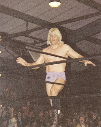 Ric Flair Doing His Legendary Strut