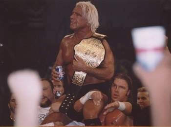 A Special Night In Greenville, South Carolina From 2003 When All The Wrestlers Paid Respect to Ric Flair