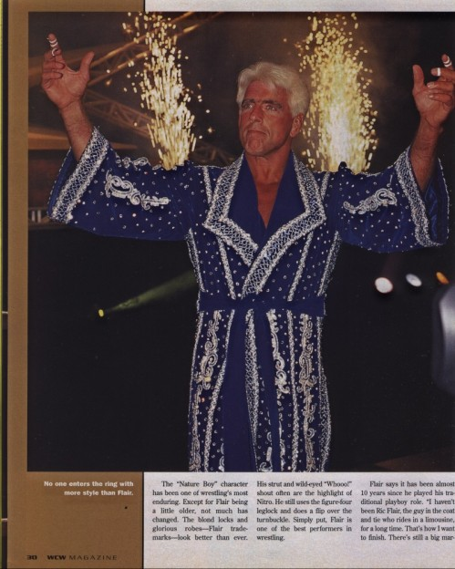Ric Flair Creates Fireworks!