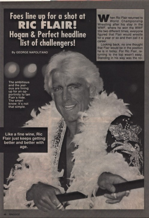 Like A Fine Wine, Ric Flair Gets Better and Better With Age