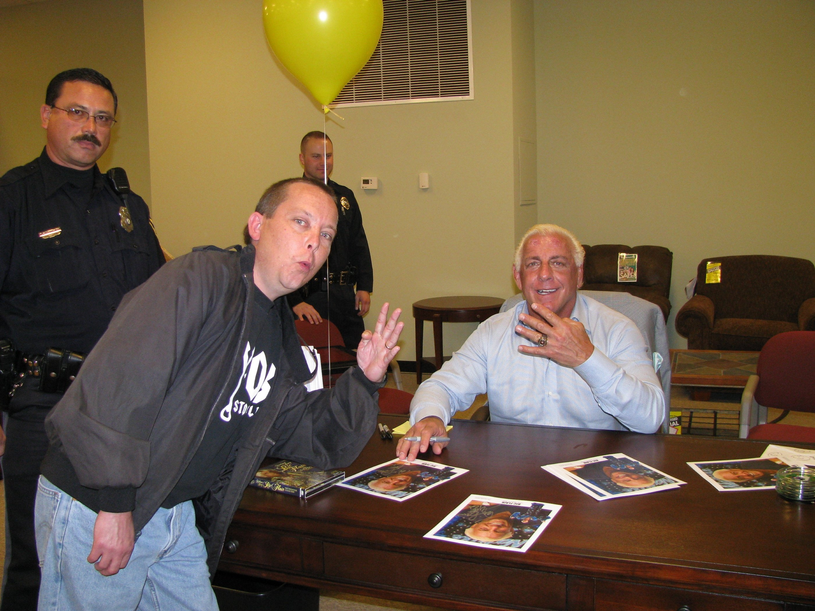 My Good Friend Iceman with the Nature Boy