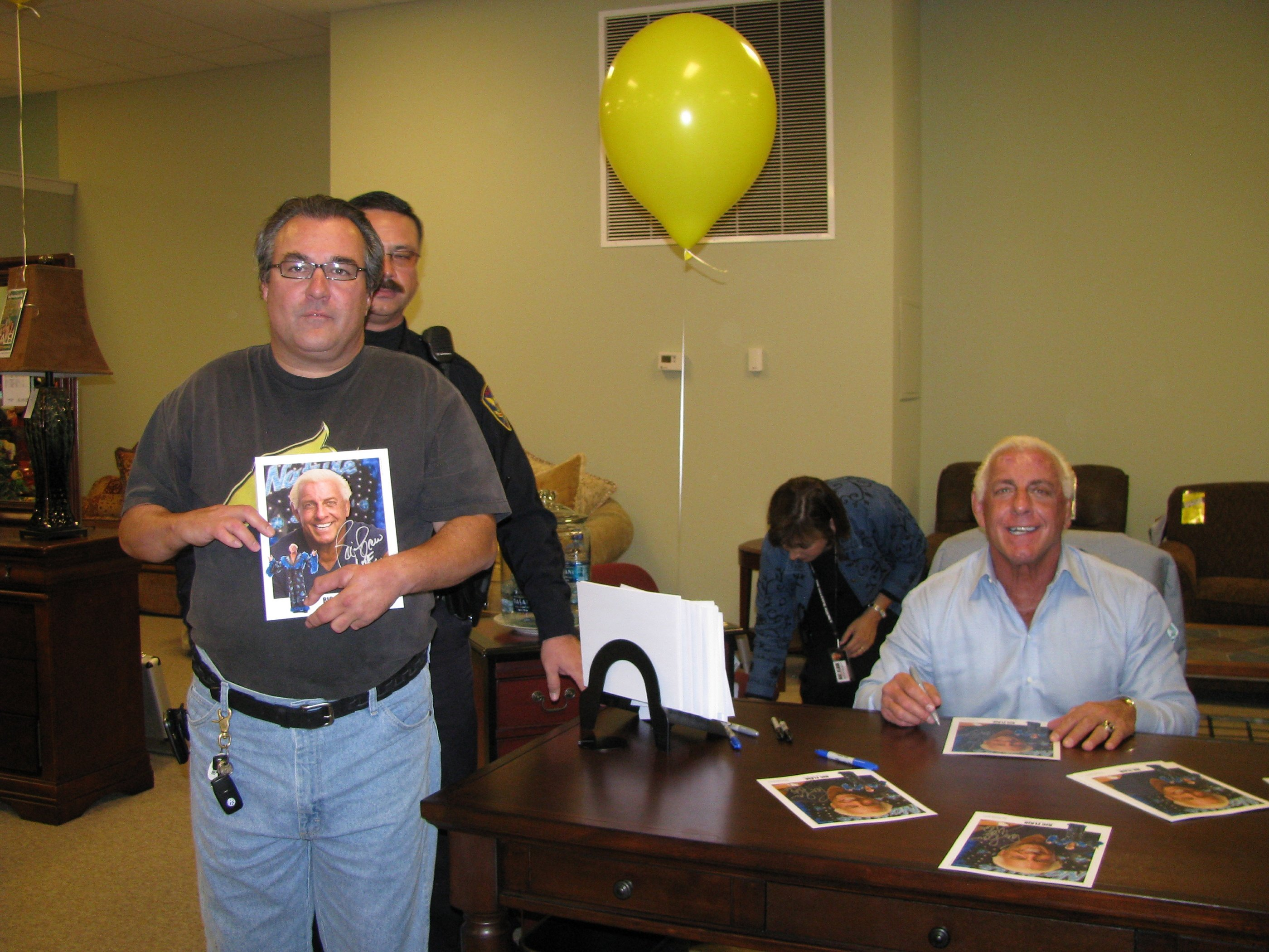 My good friend Joey is with Ric Flair but he is thinking about the Oak Ridge Boys Elvira and Bobby Sue  lol