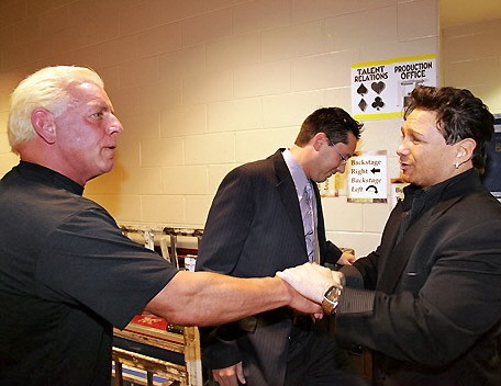 Ric Flair With Vinny Pazienza