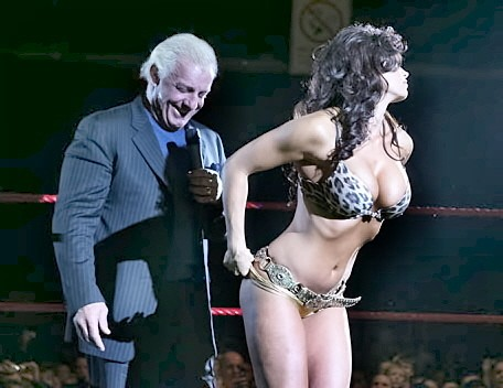 Ric Flair and Candice Michelle
