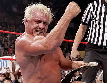 Ric Flair Wins the IC Title