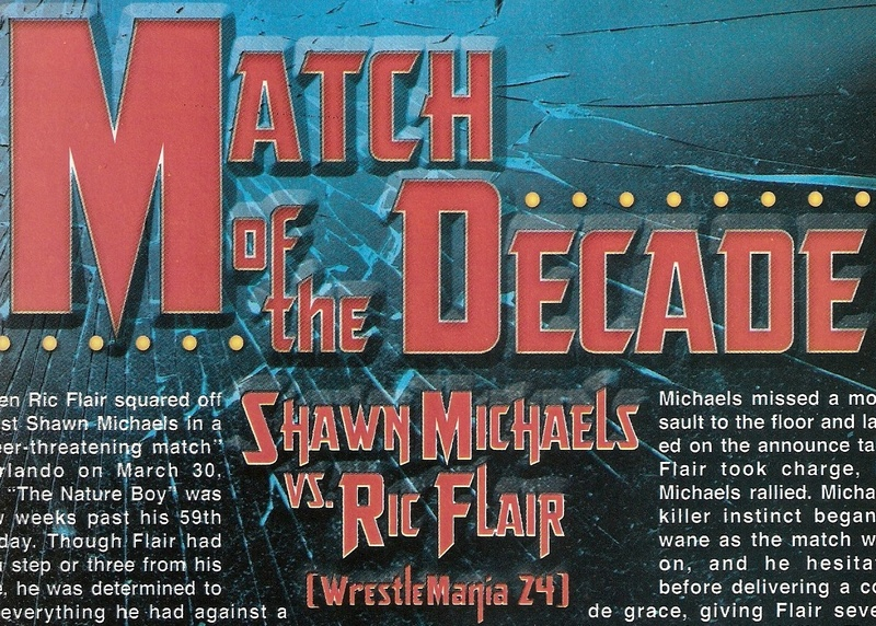 Match of the Decade Ric Flair vs. Shawn Michaels