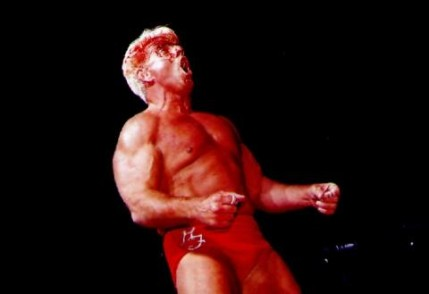 Ric Flair Belting out a wooooo