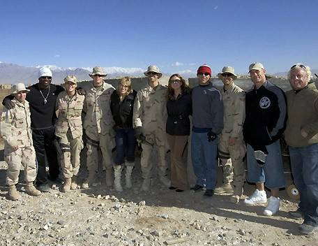 The Troops In Afghanistan With The WWE Superstars