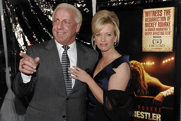 Ric Flair with Girlfriend Jackie