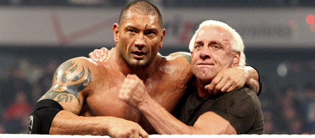 Close Friends Dave Batista and Ric Flair