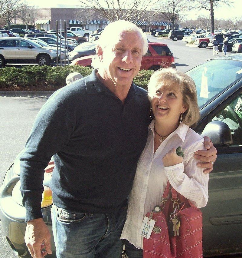 Debbie with Ric Flair