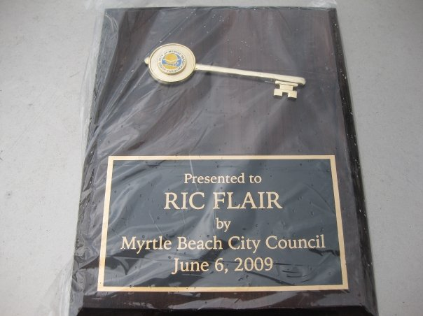 The Key that was presented to Ric Flair