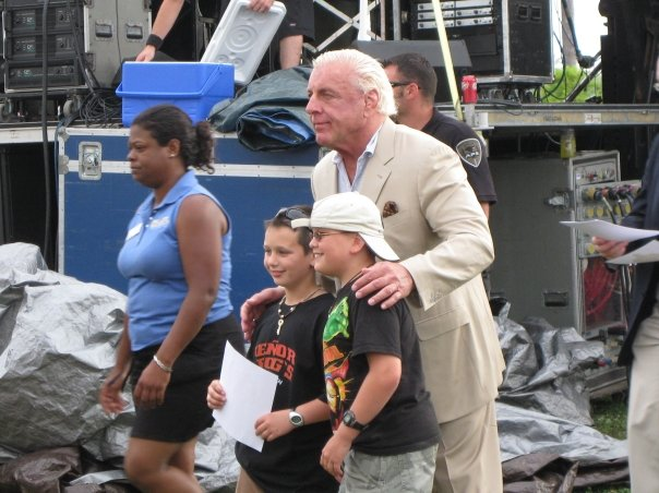 Ric always has time for Kids