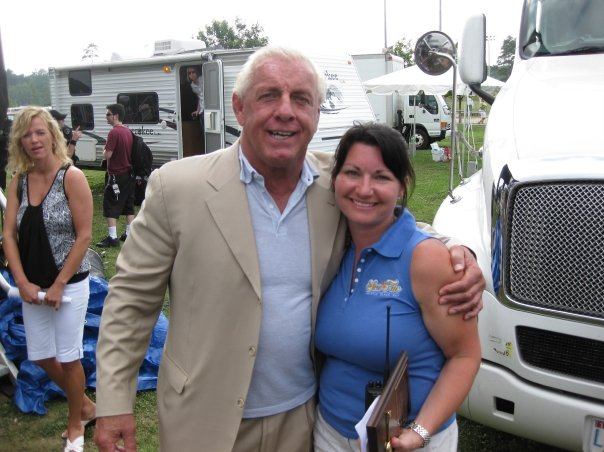 Ric Flair with Amy Lee
