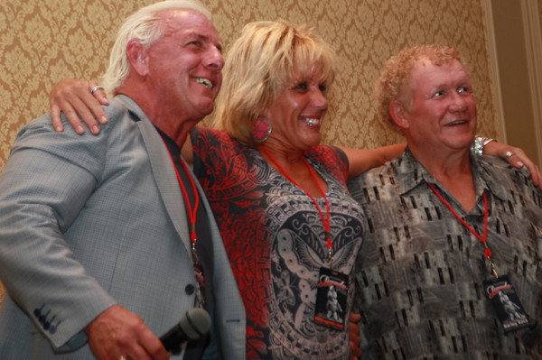 Ric Flair, Baby Doll and Harley Race