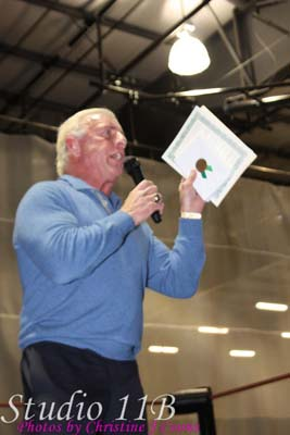 Ric Flair Receiving Another Award