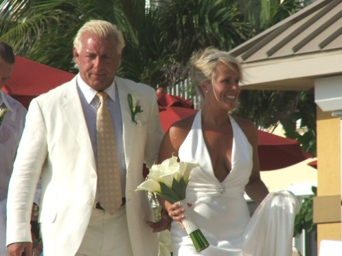 Ric Flair and His Beautiful Wife Tiffany