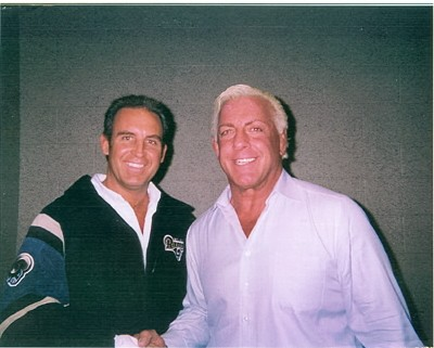 Mark With Ric Flair