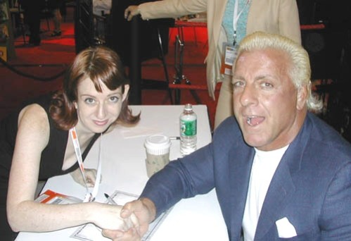 Unidentified Woman With Ric Flair