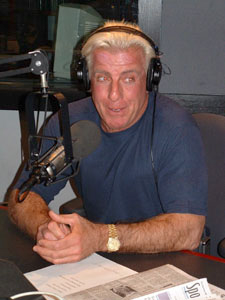 Ric Flair With Headphones On.