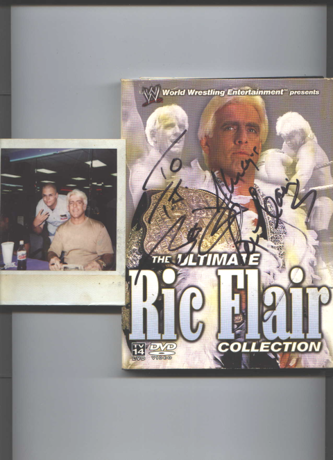 My Friend TJ Moore With Ric Flair