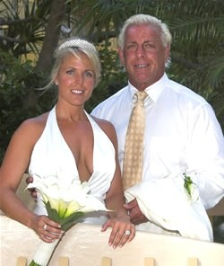 Ric Flair and Tiffany