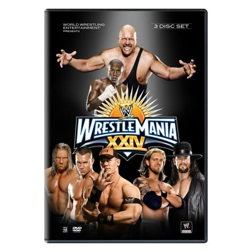 Wrestlemania 24 DVD That Features Ric Flair's Emotional Hall Of Fame Speech