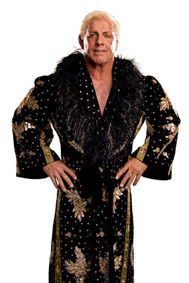 Ric Flair in a Awesome Robe