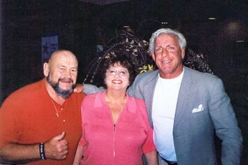 Ric Flair,Ivan Koloff And His Wife Renae