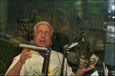 Ric Flair at The Controls