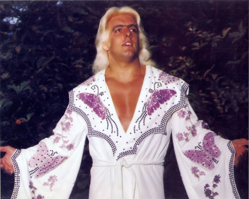 Ric Flair looking as only he can look